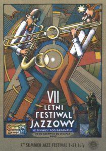 PLAKAT FESTIWALOWY 2002 autor Kazimierz Wiśniak