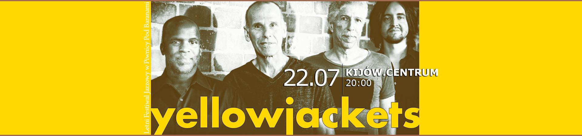 yellowjackets po raz pierwszy w Krakowie