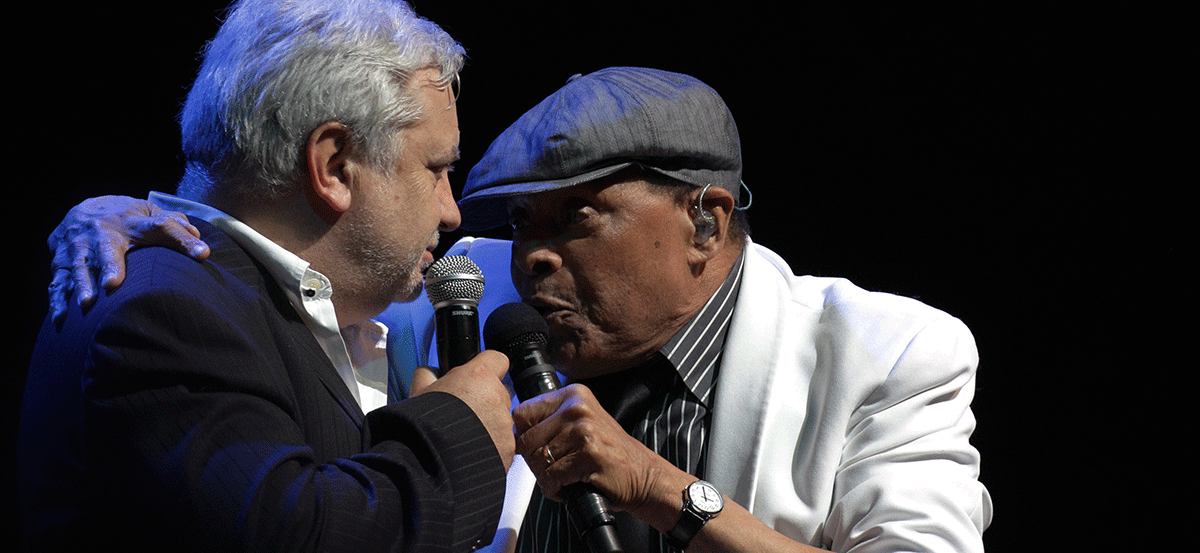 Witold Wnuk i Al Jarreau