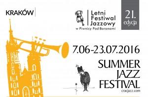 Letni Festiwal Jazzowy 2016 Afisz MALY